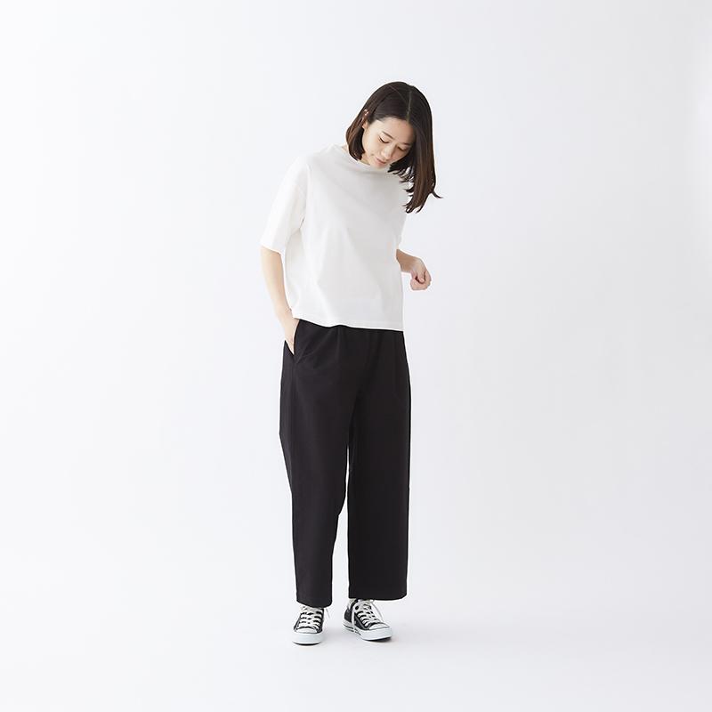 コットン和紙タックワイドパンツ-画像_01