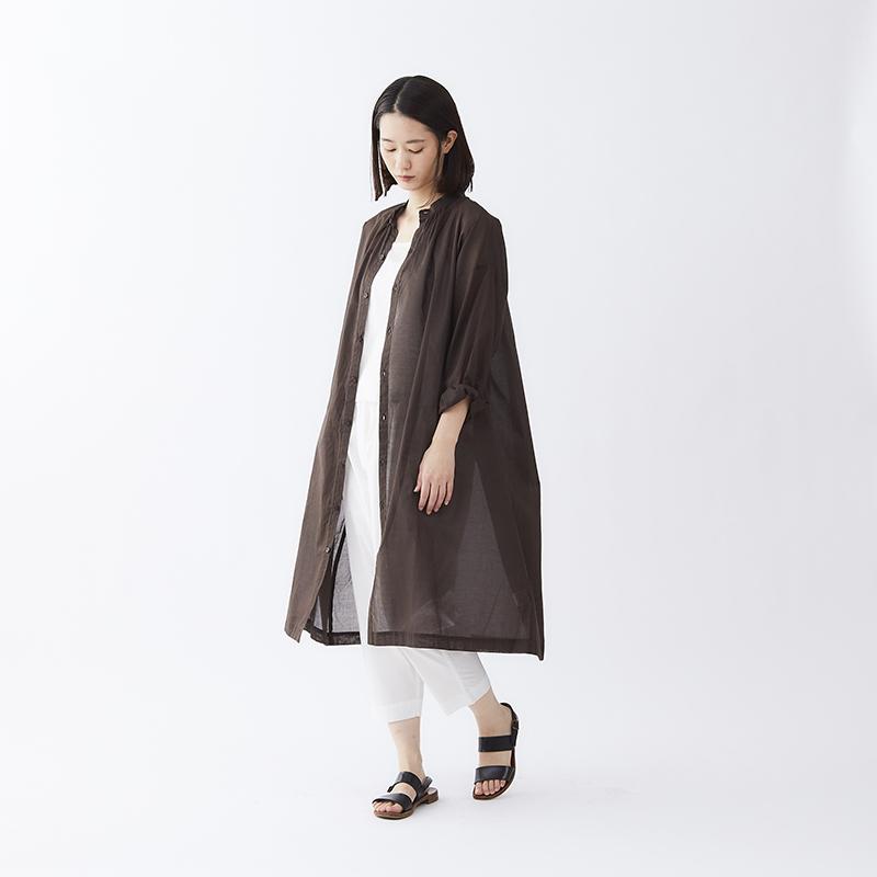 コットンシースルーロングシャツドレス-画像_01